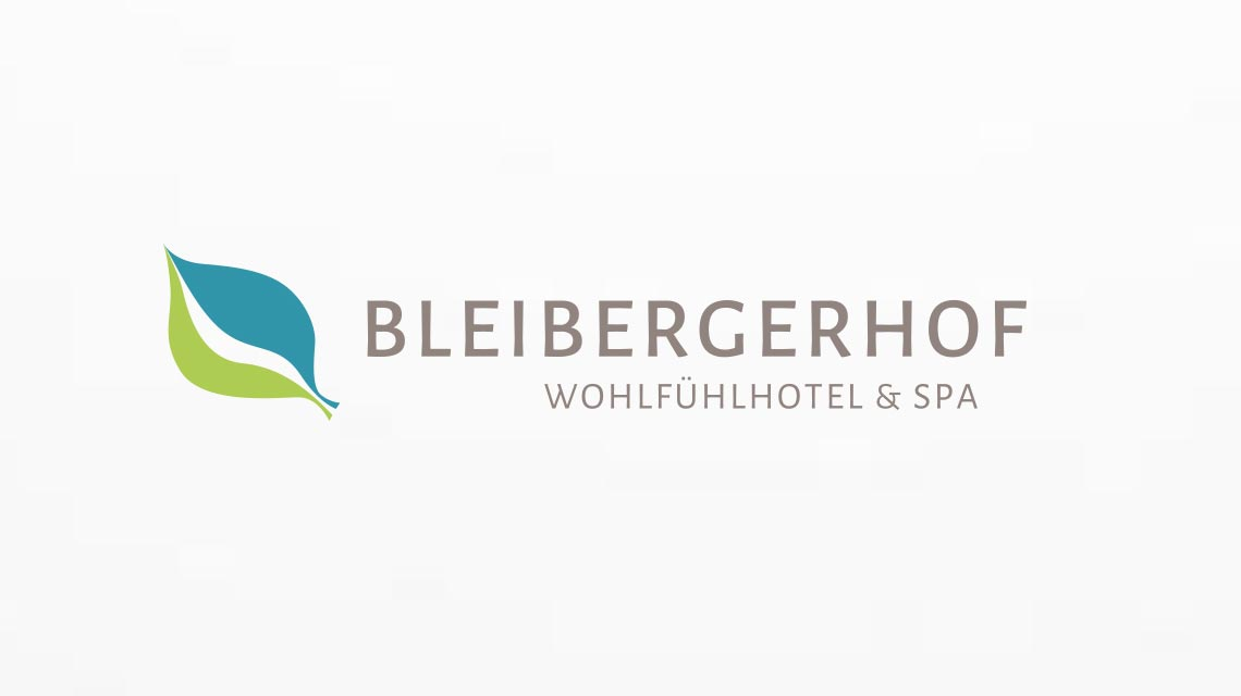 Logo - Corporate Re-Design Hotel Bleibergerhof