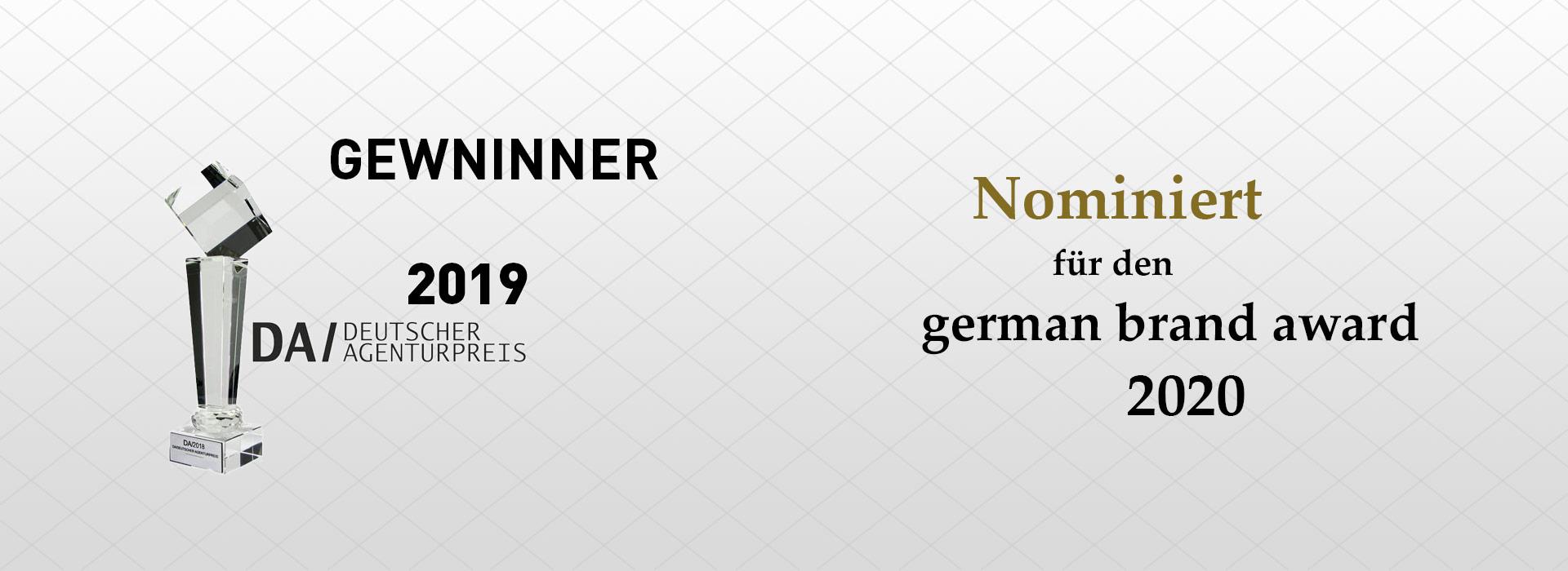 Auszeichnung-Deutscher Agenturpreis 2019 - Webseitengestaltung Elzland Hotel 9 Linden