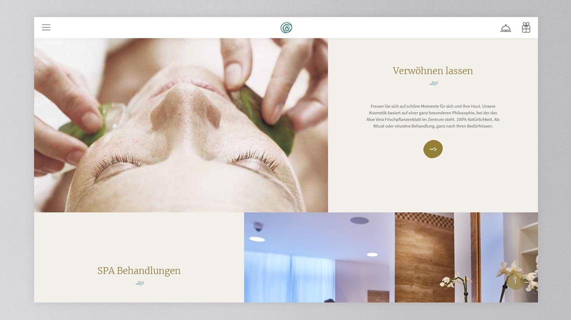 Webseite-Contentbereich - Webseite Elzland Hotel Pfauen
